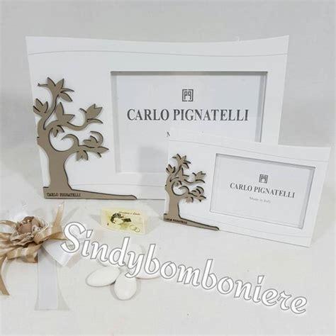 bomboniere cornici bomboniera carlo pignatelli portafoto in legno albero