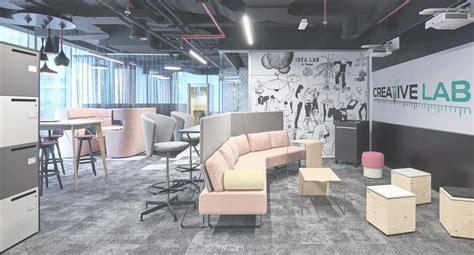 interiorsfit  contractors  dubai creative lab