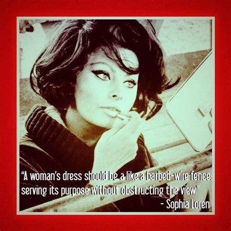 sophia loren quotes  fashion quotesgram