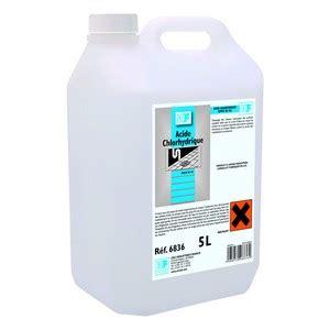 Acide Chlorhydrique Calcaire Wc by Acide Chlorhydrique Bidon 5 L