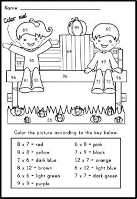 halloween coloring pages math facts 57 best images about number sense on pinterest math