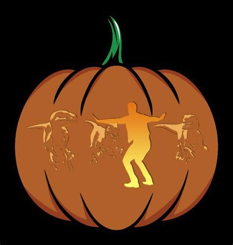 free printable pumpkin carving stencils jurassic park pop culture pumpkins 2015 edition printables