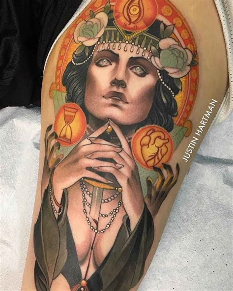 tattoo magazine artists justin hartman from mesa usa inkppl