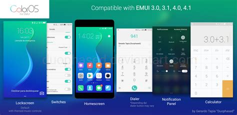 huawei themes deviantart color os theme for emui by duophased on deviantart