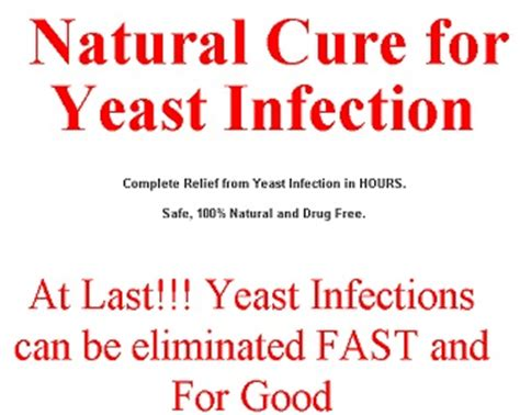 home remedies for yeast infection how cure for