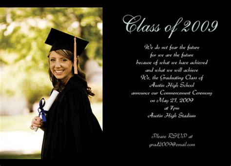 free graduation announcement photo card templates free graduation invitations template best template