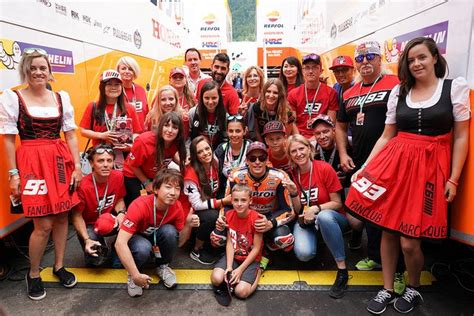 Motorrad Grand Prix Austria by Motorrad Grand Prix 214 Sterreich Marc M 193 Rquez Fanclub