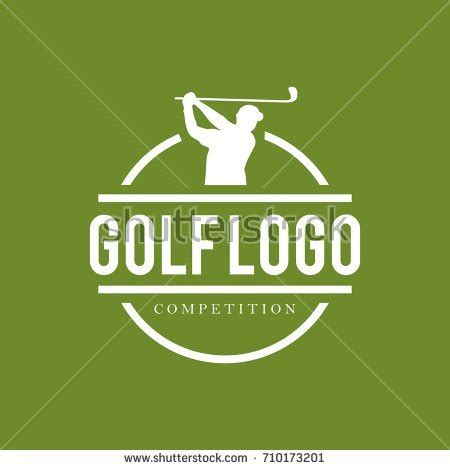 Golf Logo Stock Images Royalty Free Images Vectors Shutterstock Golf Design Template