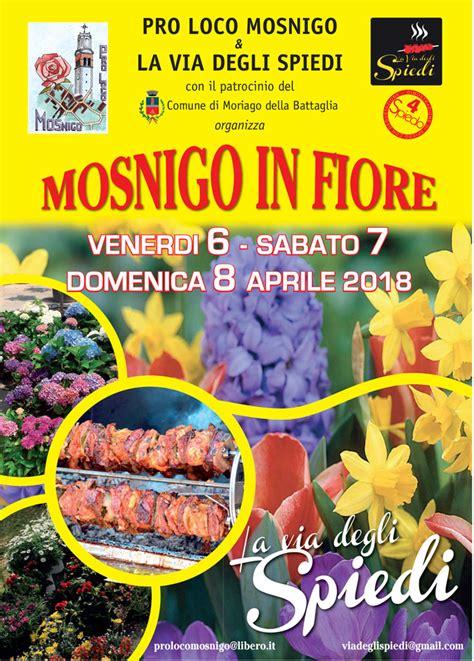 mostre di fiori moriago della battaglia mosnigo in fiore mostra mercato di