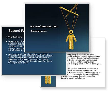 marionette layout view template marionette powerpoint template poweredtemplate com 3