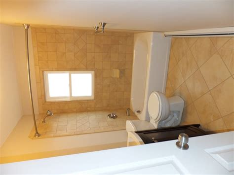Bathroom Redo Ideas by Window In Shower What Would You Do