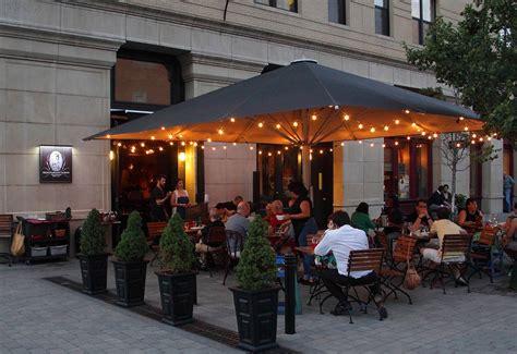 cuisine outdoor best outdoor restaurants bars in downtown jersey city