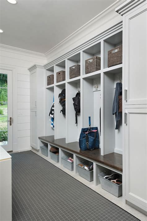laundry room lockers open mudroom lockers transitional laundry room blue water home builders