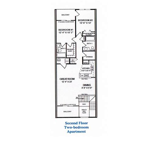 two bedroom two bath apartment floor plans 100 two bedroom two bath apartment floor plans