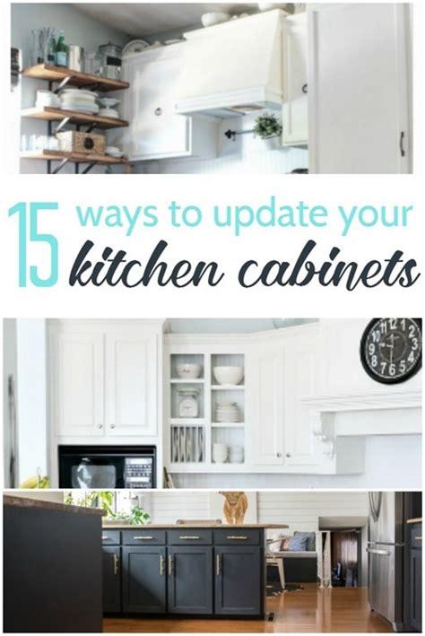ways to update kitchen cabinets 15 amazing ways to redo kitchen cabinets lovely etc