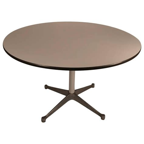 eames laminate top herman miller dining table at 1stdibs
