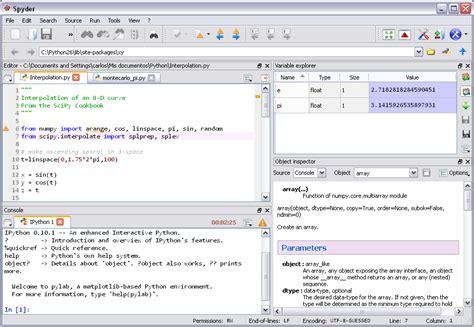 10 best python ides for software development hative spyder software wikipedia