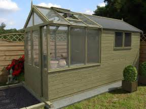 Greenhouse Shed Our New Greenhouse Shed Combo Range Dunster House