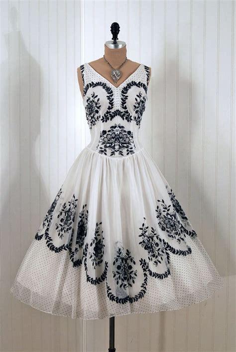 Black And White Vintage Dress 17 best images about vintage on vintage