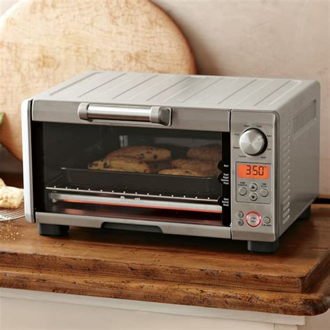 smart countertop breville mini smart toaster oven williams sonoma