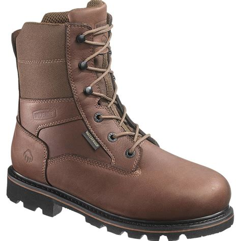 mens insulated boots wolverine novack insulated waterproof boot s
