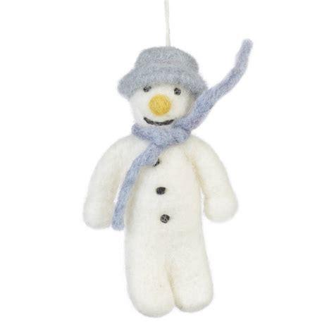 Snowman Handmade - handmade felt mr snowman by felt so