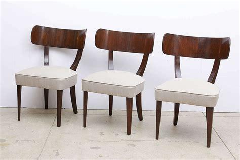 Klismos Dining Chairs Mahogany Klismos Dining Chairs By Widdicomb At 1stdibs
