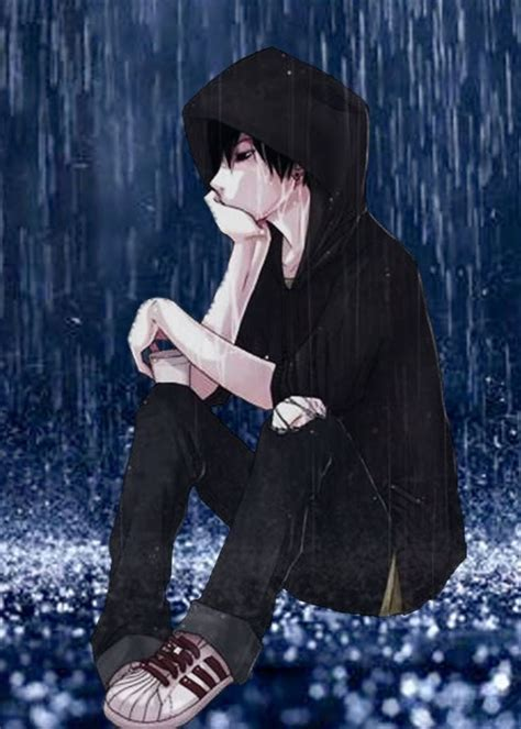 anime boy alone wallpaper image result for sad anime boy in the alone