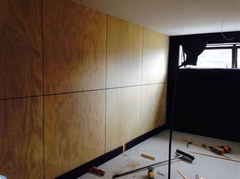 plywood walls blonded ply interior design buildmeco