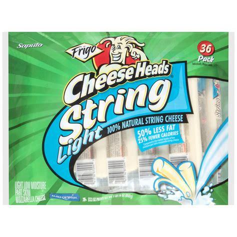 frigo light string cheese frigo cheese heads light string cheese 36 ct 0 8 oz