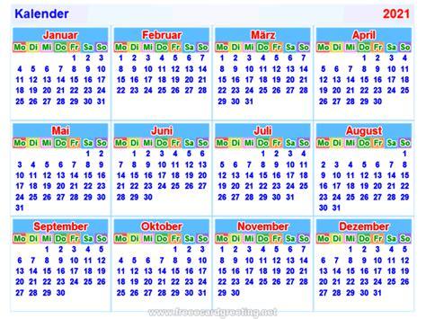 Kalender 2021 Nrw Kalender2021