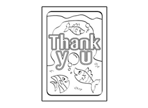 thank you card template pages free coloring pages of say thank you