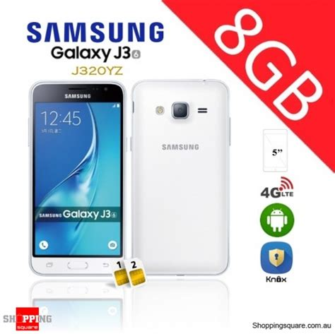 samsung galaxy j3 dual sim j320yz 4g 8gb unlocked smart phone white shopping shopping