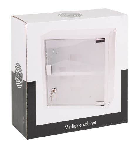 bathroom solutions wall mountable medicine cabinet aid lockable glass