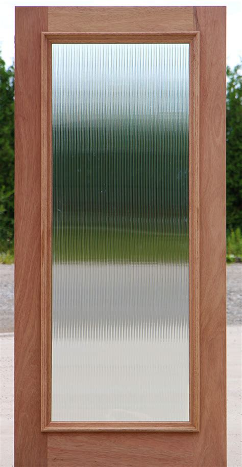Door Glass Exterior Door Glass Reeded Glass Door