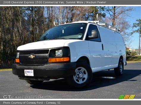 how cars run 2008 chevrolet express 1500 navigation system summit white 2008 chevrolet express 1500 commercial van