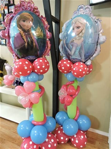 Sale Balon Foil Frozen Mirror 2 Side frozen balloon decor nwiballoons