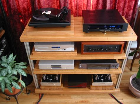Diy Stereo Rack by Anyone Plans For A Diy Audio Rack