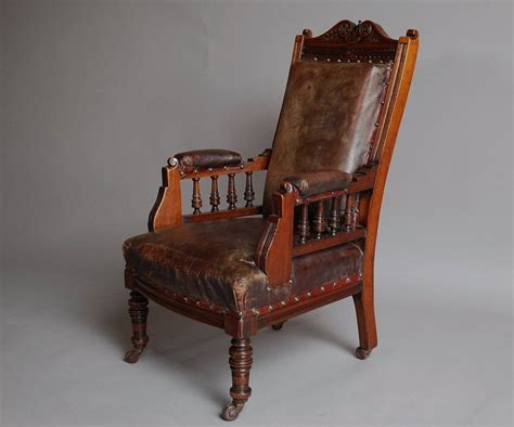 Childs Armchair Sale by Mahogany And Leather Large Childs Armchair For Sale At 1stdibs