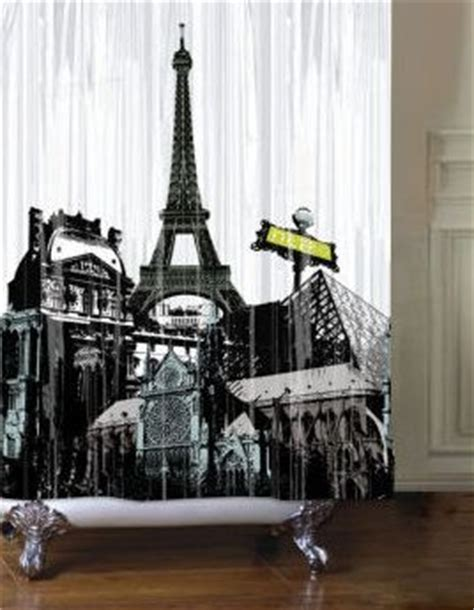 paris themed shower curtain shower curtains at walmart and paris themed bathrooms on