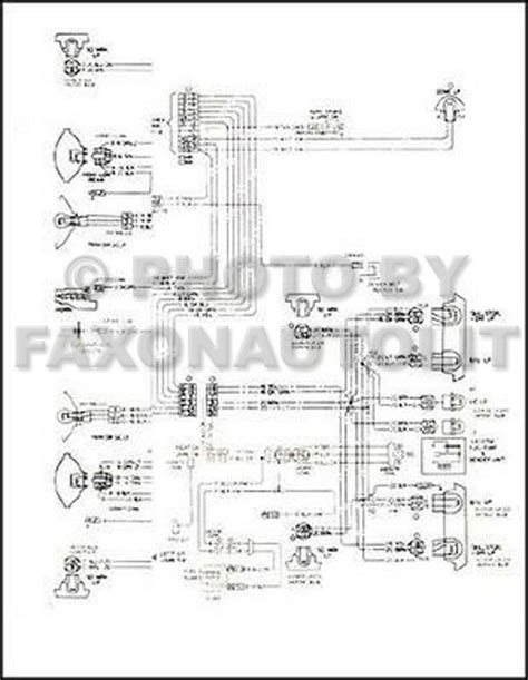 1973 Chevy Gmc P30 P3500 Motorhome Foldout Wiring Diagram