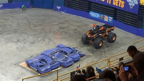 Monster Jam 2014 Chattanooga Tn Youtube