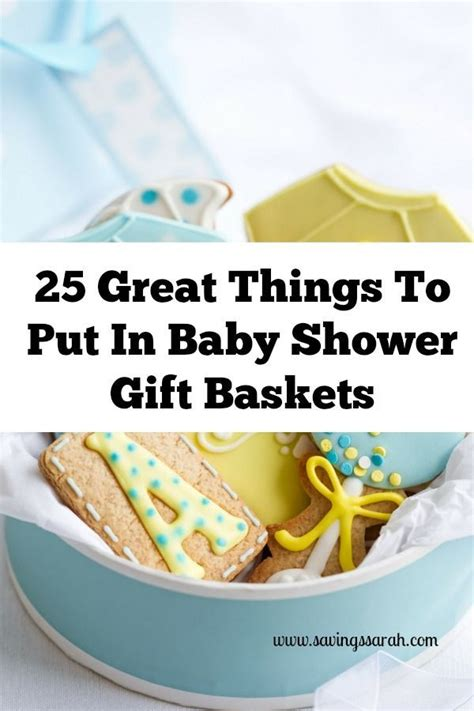 Things To Put In A Baby Shower Gift Basket by 29 Best Baby Shower Ideas Images On Baby