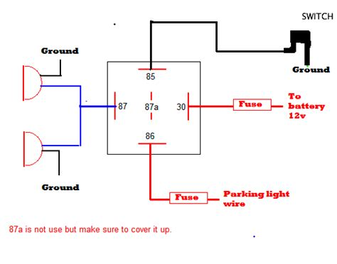 automotive lighting system wiring diagram wiring diagram