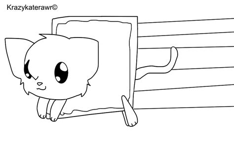 coloring pages of nyan cat nyan cat coloring pages to print coloring pages