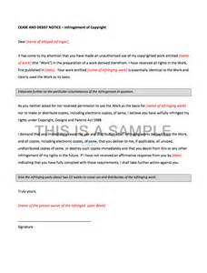 Cease And Desist Template Trademark by Cease And Desist Template Selimtd