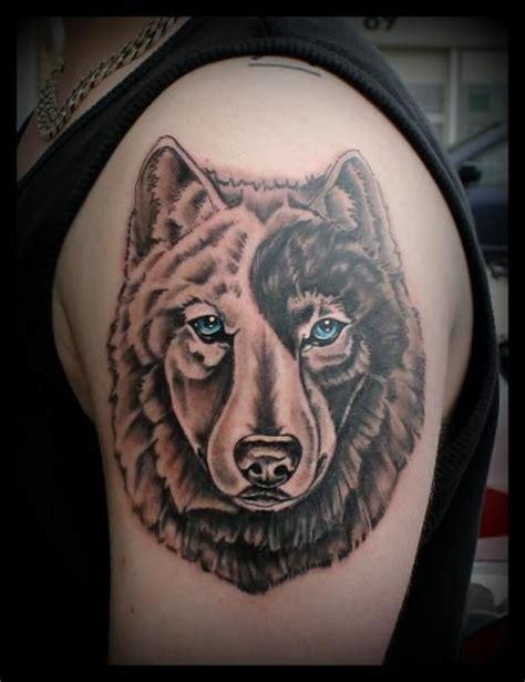 yin yang wolf tattoo google search tatoo pinterest