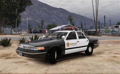 how make cars 1996 ford crown victoria parking system 1996 ford crown victoria lspd sheriff skin gta5 mods com