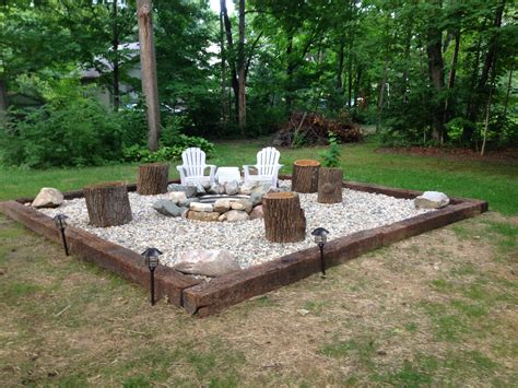 Inspiration For Backyard Fire Pit Designs Best River Rock Backyard Pit Landscaping Ideas