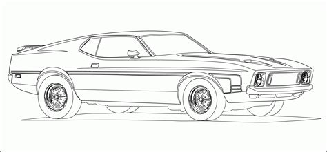 coloring pages cars mustang mustang car coloring pages free az coloring pages